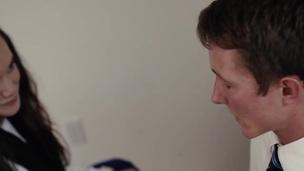 Cunt rubbing mormon teen