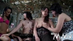 MMV FILMS German Amateur Lesbian Teens