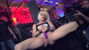Tiny Blonde Squirts Uncontrollably