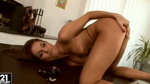 Take a look at this little impudent bitch Kissy playing with herself and stretching her snatch