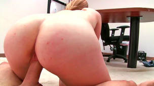 Blue eyed blonde honey enjoys anal stimulation