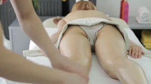 Sexy nymph Has Sensual raw After having A Massage