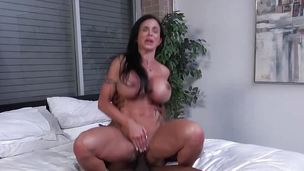 Busty babe Jewels Jade takes on this biggest cock
