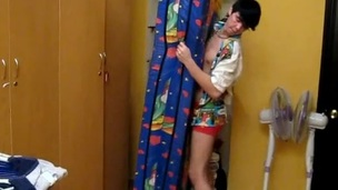 Appealing beauty gets orgasmic pounding from the back