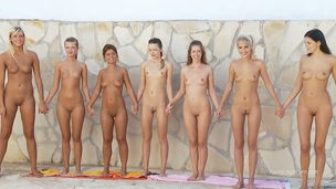 A lot of magnetic and so sweet-looking pretty slim sweethearts wait for u to spend cool time together now! Stare at these divas staying nude before showing all parts of theirs to us.
