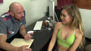 Sexy Teen Fucks a Casting Agent!