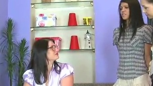 Big-Titted slavemaster Makes Missy And Lera bump Each Other