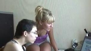 Erotic gal raises her long legs