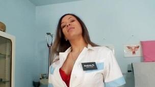 Busty nurse Stella Fox nice big tits