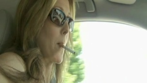 Julia Ann in glasses obtains cumshot after getting fucked hardcore