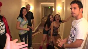 Danica Dillon, Giola Biel and Kristina Rose are modest college chicks, but their pussies are disagree with this! They wanna be drilled hard and make these babes to be slutty!