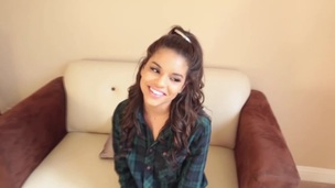 Ebony teenies chin dripping
