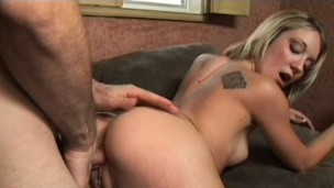 Amy Brooke adores the feeling of this hard cock filling her snatch