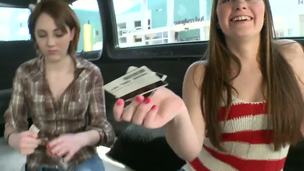 This is a particular occasion on the Bang Bus. Not only did the boys bring in a relative, all the way from Arizona, but they discovered two smokin hot teenage tourists, too. Lucky dogs!