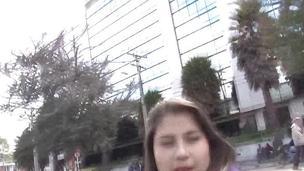 Busty amateur latina fuck
